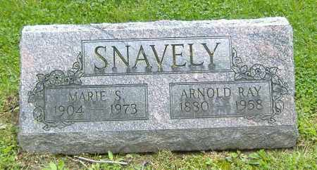 SNAVELY, MARIE S. - Richland County, Ohio | MARIE S. SNAVELY - Ohio Gravestone Photos