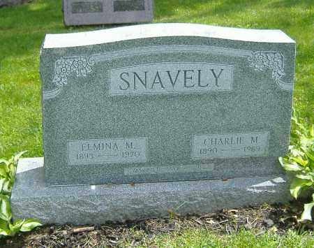 SNAVELY, ELMINA MABEL - Richland County, Ohio | ELMINA MABEL SNAVELY - Ohio Gravestone Photos