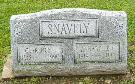 SNAVELY, CLARENCE LEROY - Richland County, Ohio   CLARENCE LEROY SNAVELY - Ohio Gravestone Photos