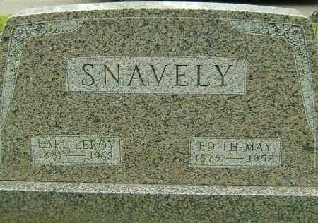 SNAVELY, EDITH MAY - Richland County, Ohio | EDITH MAY SNAVELY - Ohio Gravestone Photos