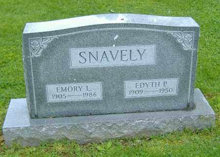 SNAVELY, EMORY LEON - Richland County, Ohio | EMORY LEON SNAVELY - Ohio Gravestone Photos