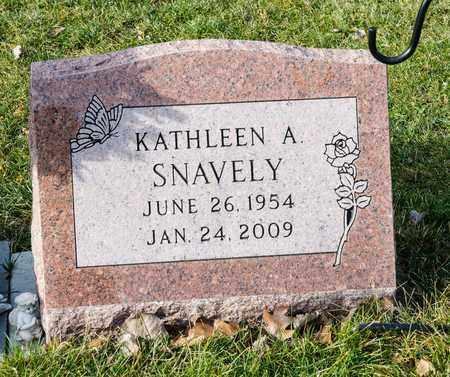 SNAVELY, KATHLEEN A - Richland County, Ohio | KATHLEEN A SNAVELY - Ohio Gravestone Photos