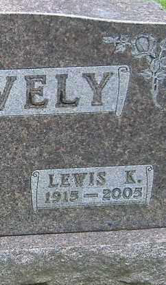SNAVELY, LEWIS K. - Richland County, Ohio   LEWIS K. SNAVELY - Ohio Gravestone Photos