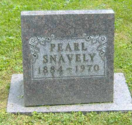 SECRIST SNAVELY, PEARL - Richland County, Ohio | PEARL SECRIST SNAVELY - Ohio Gravestone Photos