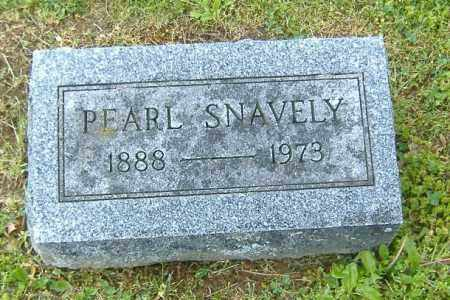 SNAVELY, PEARL - Richland County, Ohio | PEARL SNAVELY - Ohio Gravestone Photos