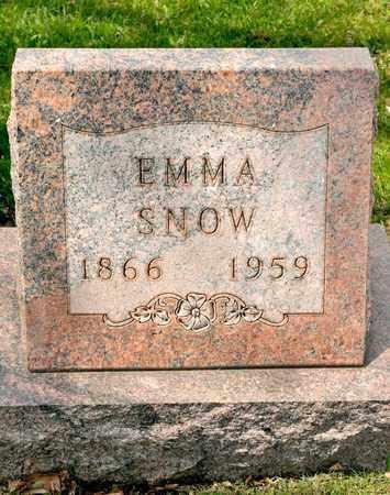 SNOW, EMMA - Richland County, Ohio | EMMA SNOW - Ohio Gravestone Photos