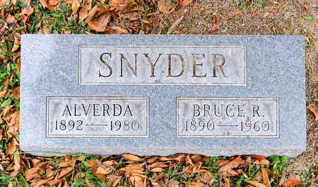 SNYDER, ALVERDA - Richland County, Ohio   ALVERDA SNYDER - Ohio Gravestone Photos