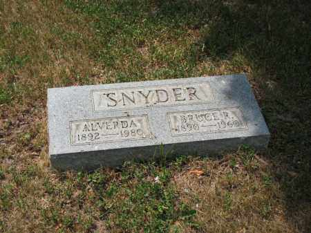 SNYDER, BRUCE R. - Richland County, Ohio | BRUCE R. SNYDER - Ohio Gravestone Photos