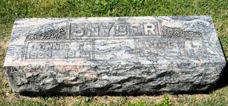 SNYDER, CONNIE R - Richland County, Ohio | CONNIE R SNYDER - Ohio Gravestone Photos