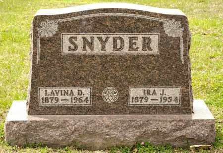 SNYDER, LAVINA D - Richland County, Ohio | LAVINA D SNYDER - Ohio Gravestone Photos