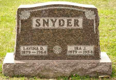 SNYDER, IRA J - Richland County, Ohio | IRA J SNYDER - Ohio Gravestone Photos