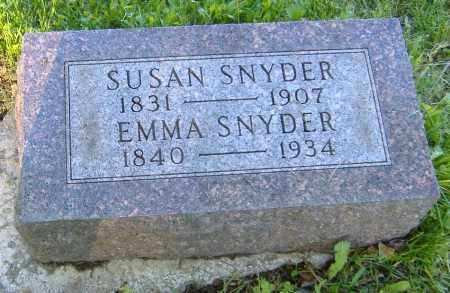 SNYDER, SUSAN - Richland County, Ohio | SUSAN SNYDER - Ohio Gravestone Photos