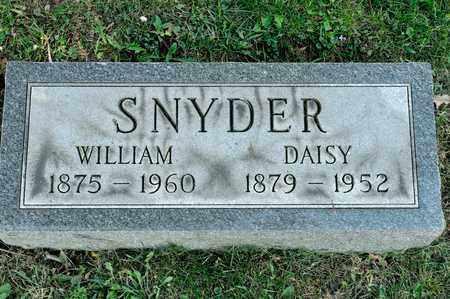 SNYDER, WILLIAM - Richland County, Ohio | WILLIAM SNYDER - Ohio Gravestone Photos