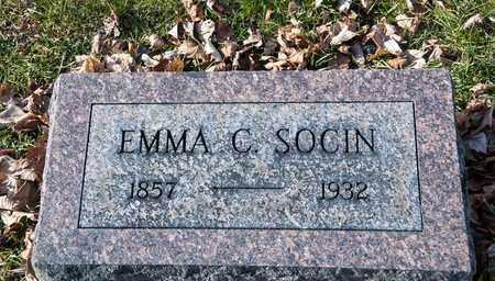 SOCIN, EMMA C - Richland County, Ohio   EMMA C SOCIN - Ohio Gravestone Photos