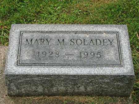 SOLADEY, MARY M. - Richland County, Ohio | MARY M. SOLADEY - Ohio Gravestone Photos