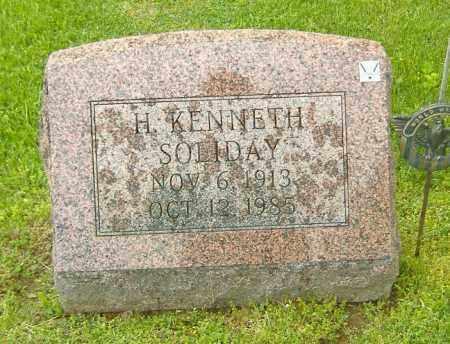 SOLIDAY, HOAGAN KENNETH - Richland County, Ohio | HOAGAN KENNETH SOLIDAY - Ohio Gravestone Photos