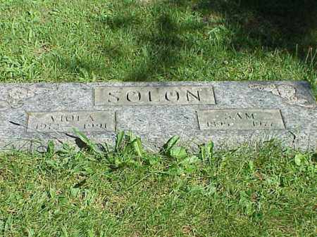SOLON, SAM - Richland County, Ohio | SAM SOLON - Ohio Gravestone Photos