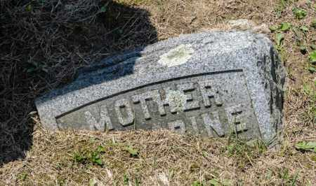 SONNANSTINE, CATHERINE - Richland County, Ohio | CATHERINE SONNANSTINE - Ohio Gravestone Photos