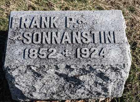 SONNANSTINE, FRANK P - Richland County, Ohio | FRANK P SONNANSTINE - Ohio Gravestone Photos