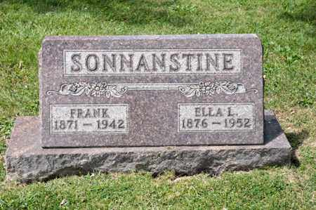 SONNANSTINE, ELLA L - Richland County, Ohio | ELLA L SONNANSTINE - Ohio Gravestone Photos