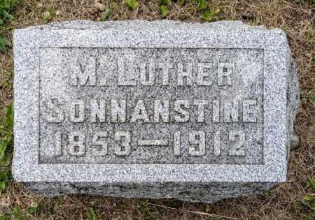 SONNANSTINE, M LUTHER - Richland County, Ohio | M LUTHER SONNANSTINE - Ohio Gravestone Photos