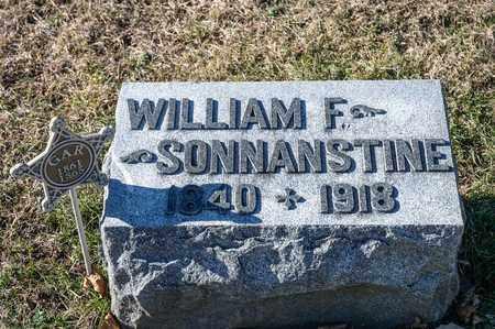 SONNANSTINE, WILLIAM F - Richland County, Ohio | WILLIAM F SONNANSTINE - Ohio Gravestone Photos