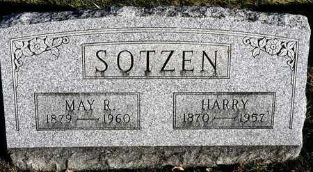 SOTZEN, MAY R - Richland County, Ohio | MAY R SOTZEN - Ohio Gravestone Photos