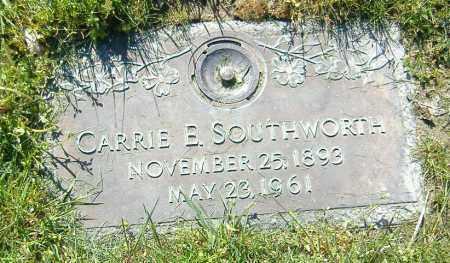 YOUNG SOUTHWORTH, CARRIE ESTELLA - Richland County, Ohio | CARRIE ESTELLA YOUNG SOUTHWORTH - Ohio Gravestone Photos