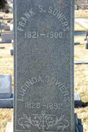 SOWERS, LUCINDA - Richland County, Ohio | LUCINDA SOWERS - Ohio Gravestone Photos
