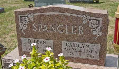 SPANGLER, CAROLYN J - Richland County, Ohio | CAROLYN J SPANGLER - Ohio Gravestone Photos