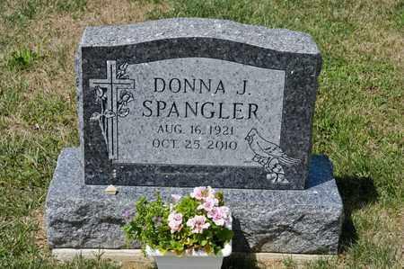 SPANGLER, DONNA J - Richland County, Ohio   DONNA J SPANGLER - Ohio Gravestone Photos