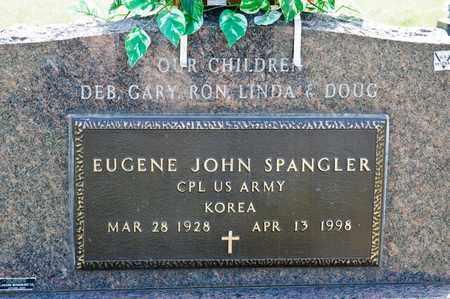 SPANGLER, EUGENE JOHN - Richland County, Ohio   EUGENE JOHN SPANGLER - Ohio Gravestone Photos