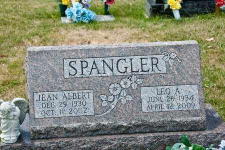 SPANGLER, LEO A - Richland County, Ohio | LEO A SPANGLER - Ohio Gravestone Photos