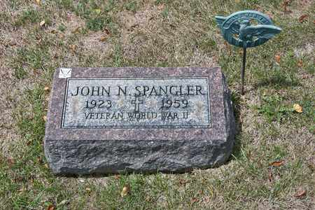 SPANGLER, JOHN N - Richland County, Ohio | JOHN N SPANGLER - Ohio Gravestone Photos