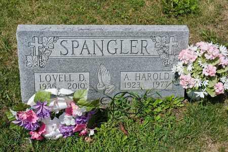 SPANGLER, LOVELL D - Richland County, Ohio | LOVELL D SPANGLER - Ohio Gravestone Photos