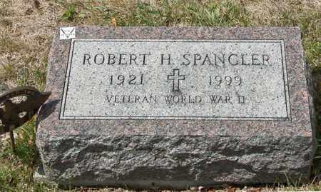 SPANGLER, ROBERT H - Richland County, Ohio   ROBERT H SPANGLER - Ohio Gravestone Photos