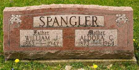 SPANGLER, WILLIAM J - Richland County, Ohio | WILLIAM J SPANGLER - Ohio Gravestone Photos