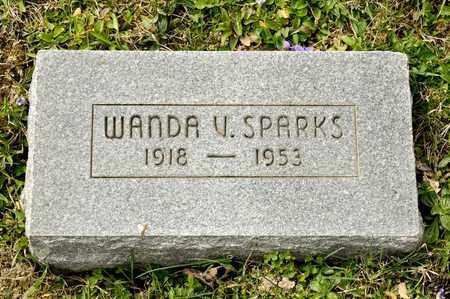 SPARKS, WANDA V - Richland County, Ohio   WANDA V SPARKS - Ohio Gravestone Photos