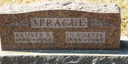SPRAGUE, DENVER B - Richland County, Ohio | DENVER B SPRAGUE - Ohio Gravestone Photos