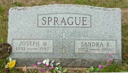 SPRAGUE, JOSEPH M - Richland County, Ohio | JOSEPH M SPRAGUE - Ohio Gravestone Photos
