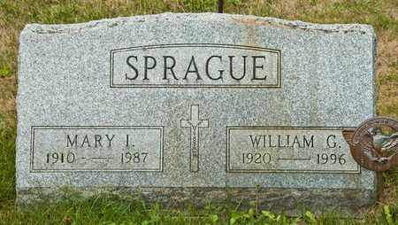 SPRAGUE, WILLIAM G - Richland County, Ohio | WILLIAM G SPRAGUE - Ohio Gravestone Photos