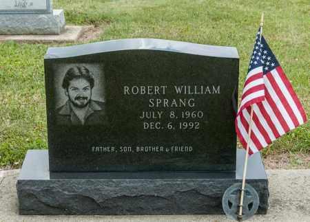 SPRANG, ROBERT WILLIAM - Richland County, Ohio   ROBERT WILLIAM SPRANG - Ohio Gravestone Photos