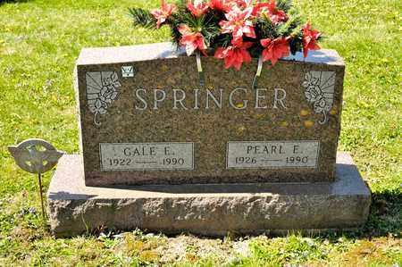 SPRINGER, PEARL E - Richland County, Ohio | PEARL E SPRINGER - Ohio Gravestone Photos
