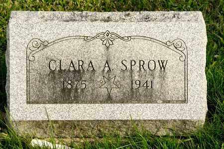 SPROW, CLARA A - Richland County, Ohio | CLARA A SPROW - Ohio Gravestone Photos