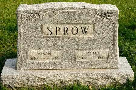 SPROW, ROSAN - Richland County, Ohio | ROSAN SPROW - Ohio Gravestone Photos