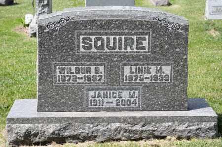 SQUIRE, LINIE M - Richland County, Ohio | LINIE M SQUIRE - Ohio Gravestone Photos