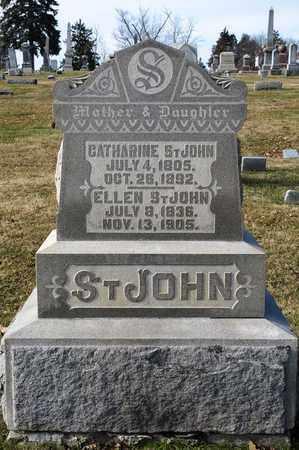 ST. JOHN, CATHARINE - Richland County, Ohio | CATHARINE ST. JOHN - Ohio Gravestone Photos