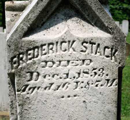 STACK, FREDERICK - Richland County, Ohio | FREDERICK STACK - Ohio Gravestone Photos