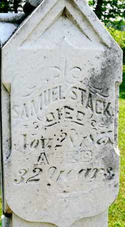 STACK, SAMUEL - Richland County, Ohio | SAMUEL STACK - Ohio Gravestone Photos