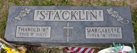 STACKLIN, HAROLD R - Richland County, Ohio | HAROLD R STACKLIN - Ohio Gravestone Photos